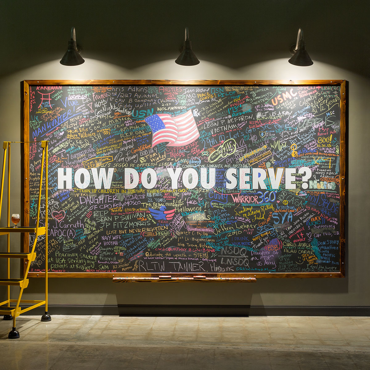 Service Brewing Service Board