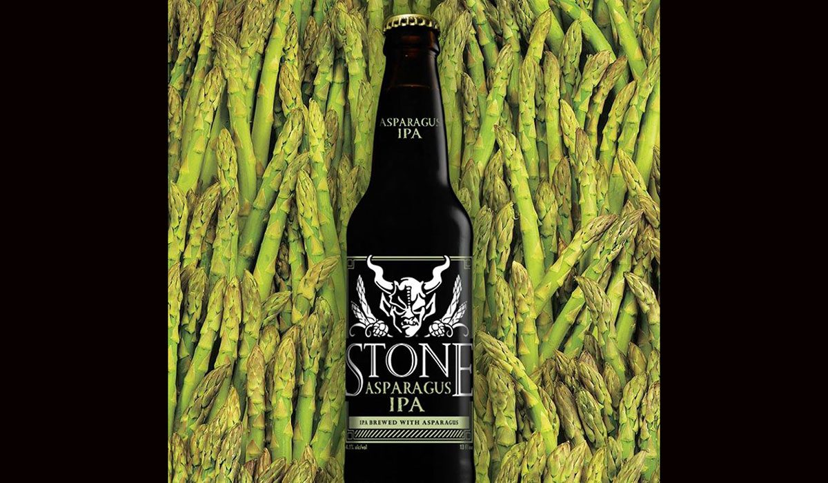Asparagus IPA Stone Brewing