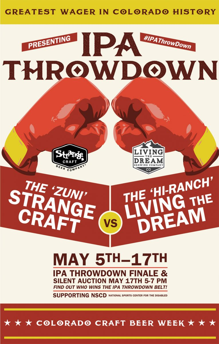 Ipa throw down finale auction for Strange craft beer company