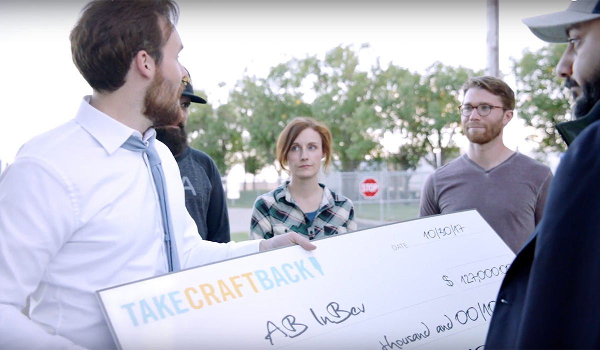 Watch take craft back makes 39 offer 39 to buy anheuser busch for Take craft beer back