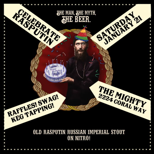 The Mighty Rasputin Birthday