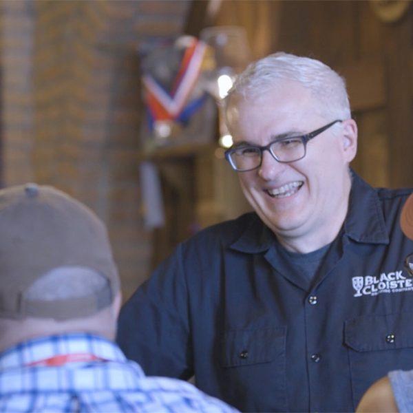 Tom Schaeffer Pastor Black Cloister