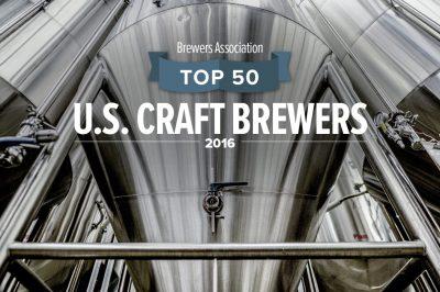 Top 50 U.S. Craft Brewers 2016