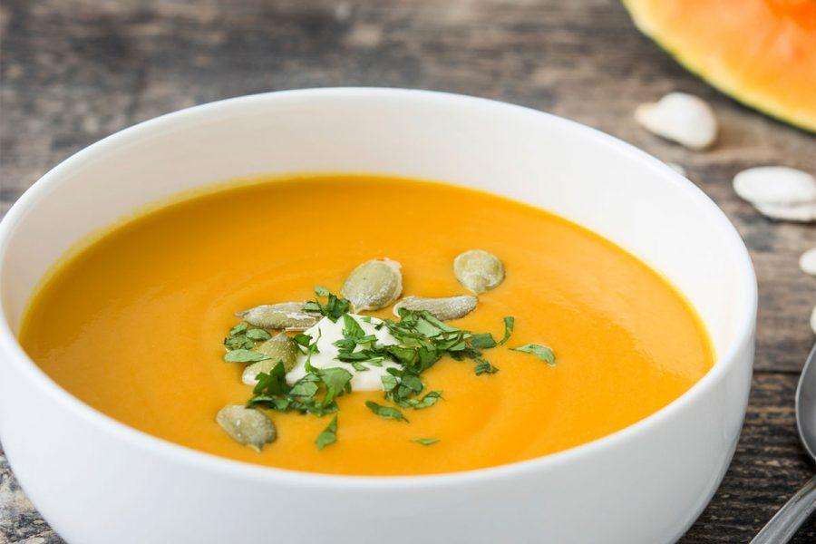 Two Beer Pumpkin Soup | CraftBeer.com