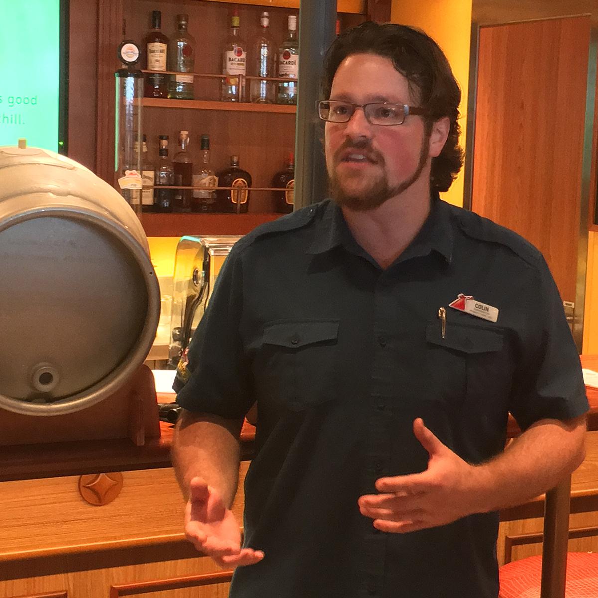 carnival vista brewer Colin Presby