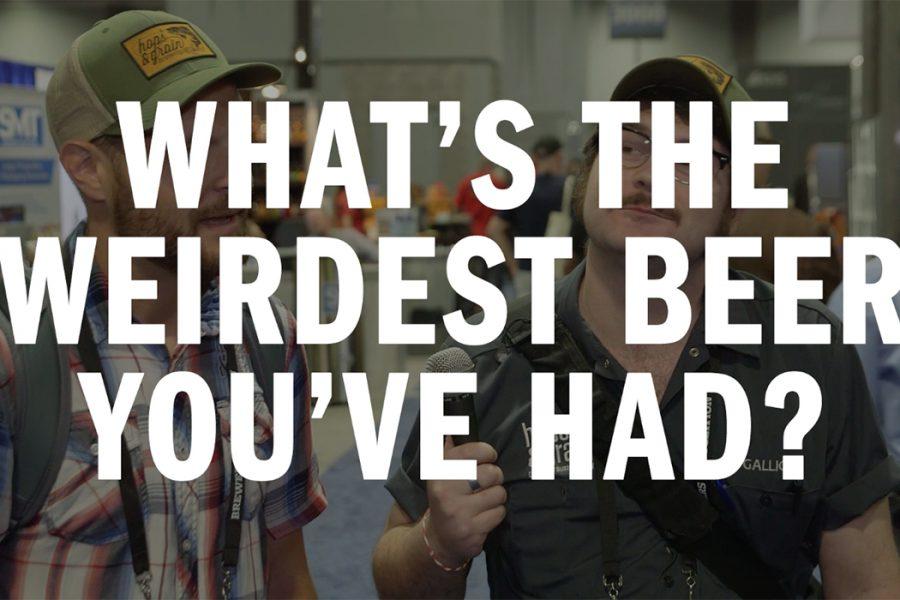weirdest beer video