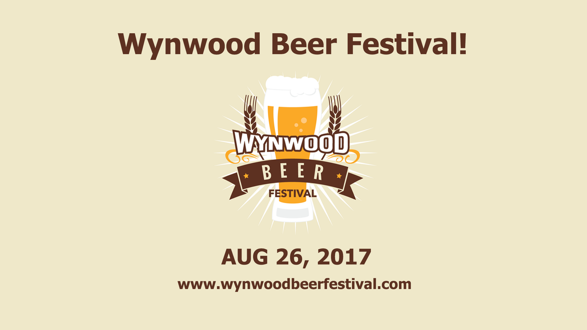 Book Cover Craft Beer Festival : Preliminary brewery list released for wynwood beer festival