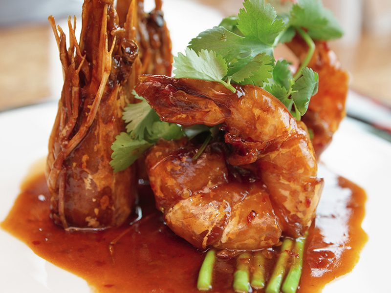 Black Magic Shrimp