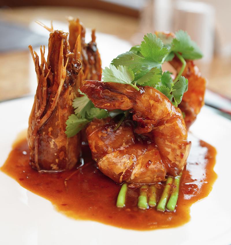 Black Magic Shrimp