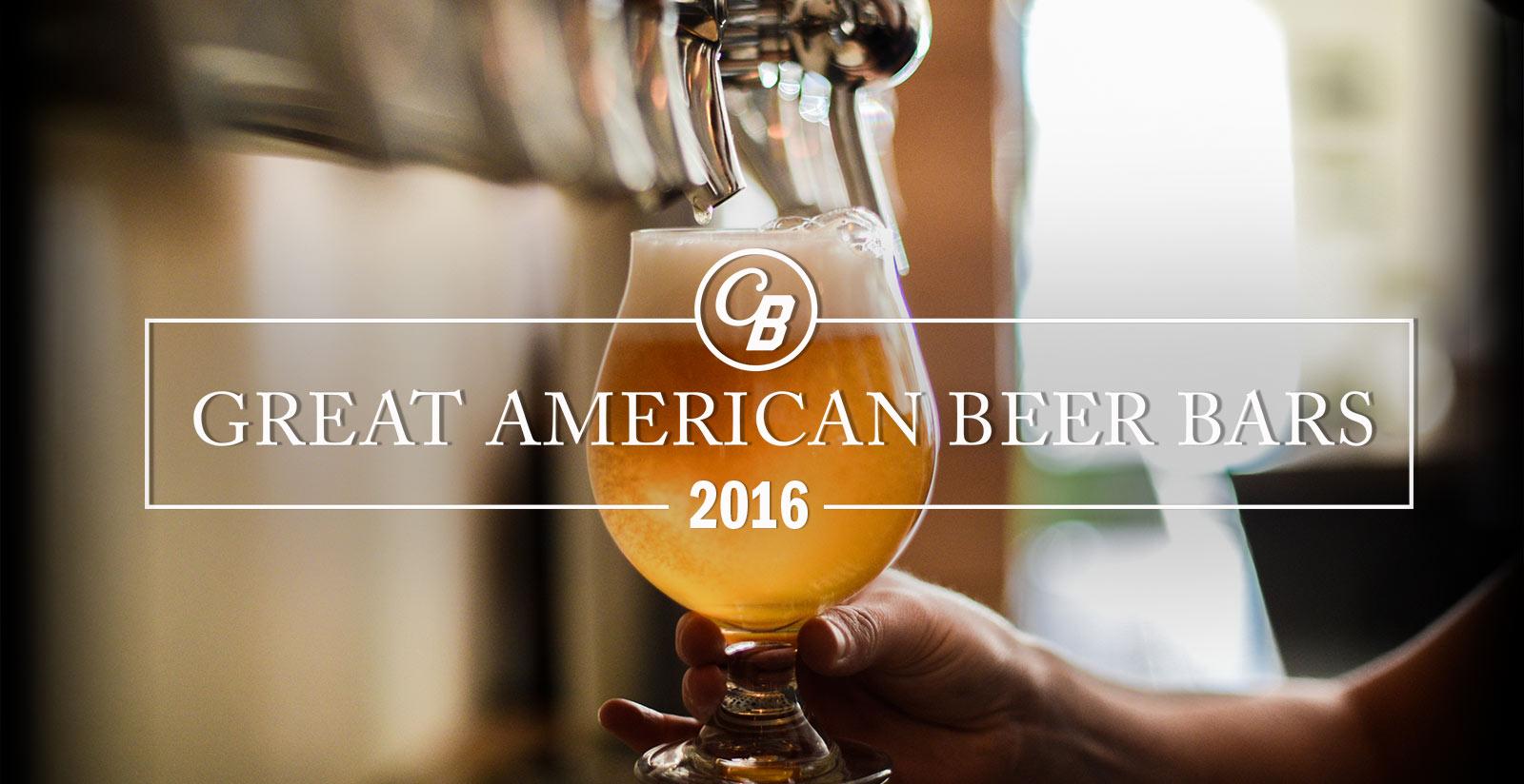 Great American Beer Bars 2016