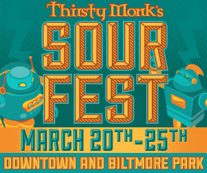 Thirsty Monk Sour Fest, March 20-25, 2017