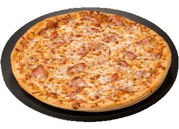 Canadian Bacon Pizza