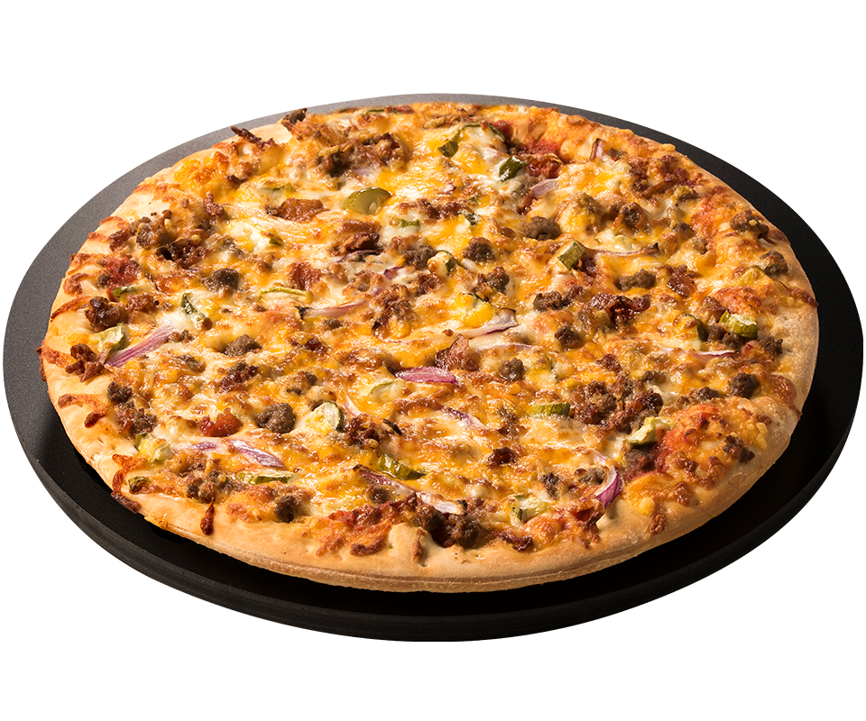 Bacon Cheeseburger Pizza