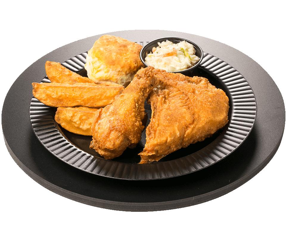 2 Piece Chicken Dinner