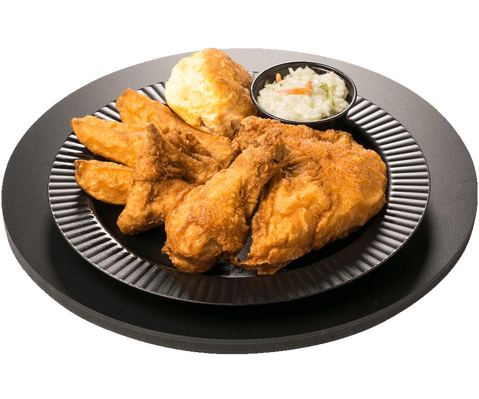 3 Piece Chicken Dinner