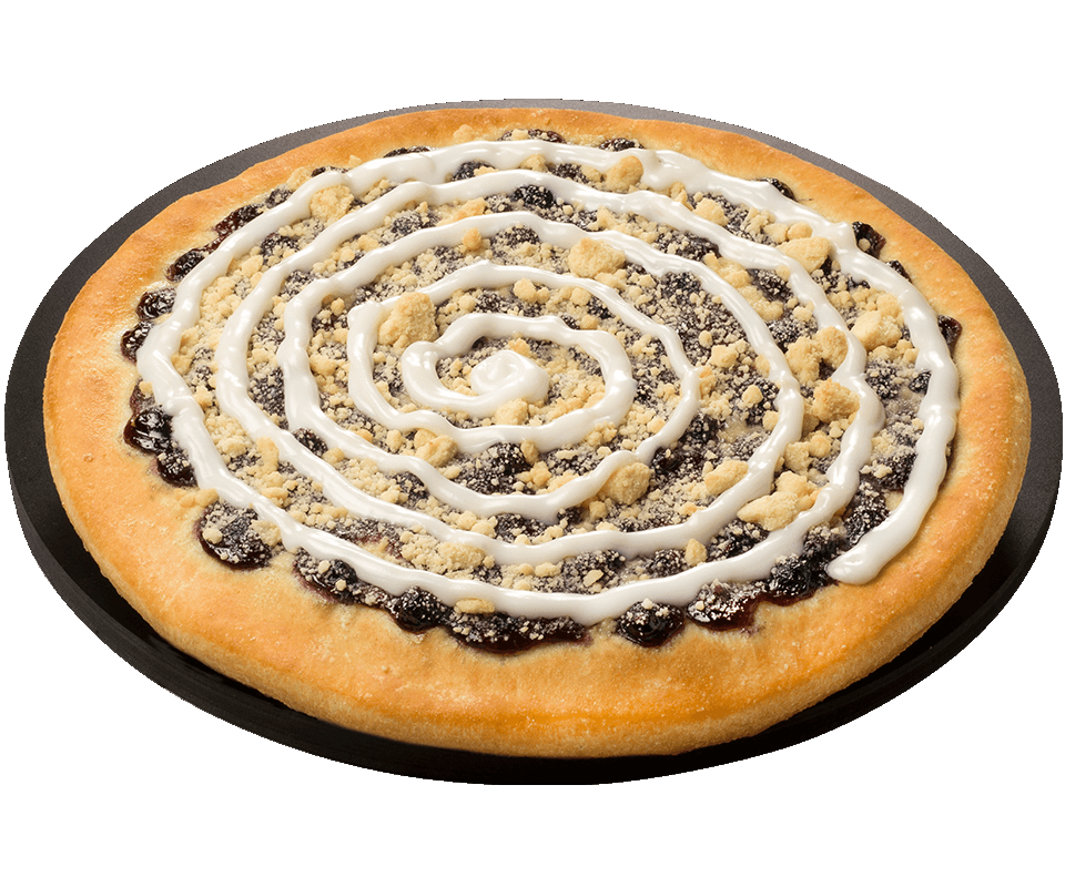 Blueberry Dessert Pizza Pizza Ranch