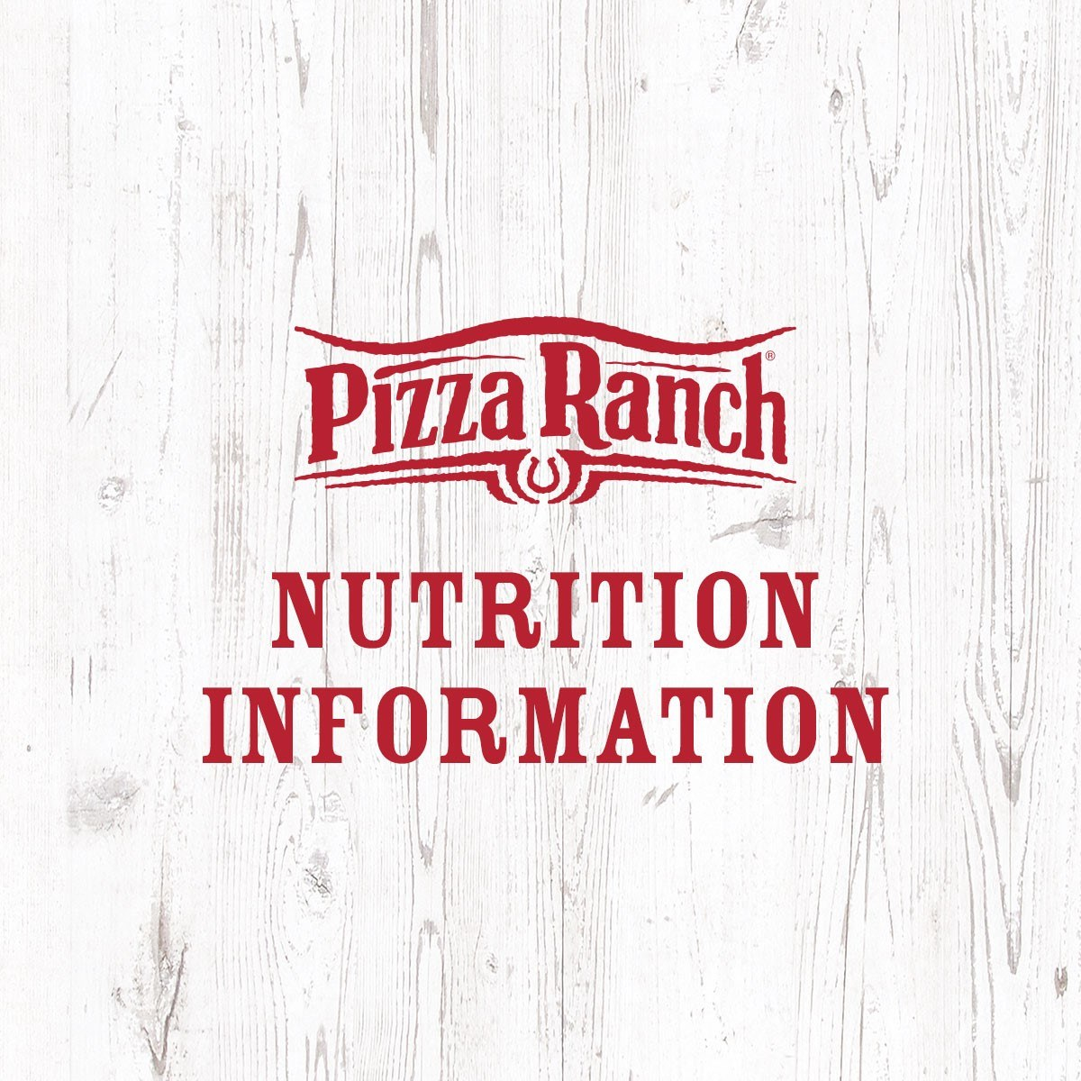 Nutrition and Allergens | Pizza Ranch
