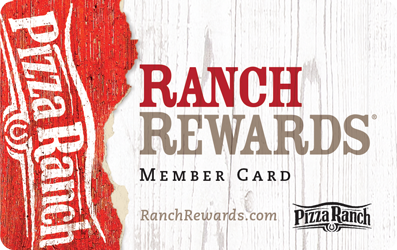 Ranch Rewards Card New