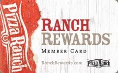 Ranch Rewards Card