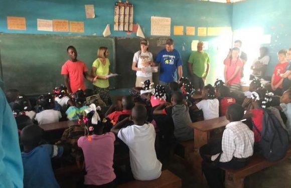 English Class in Haiti