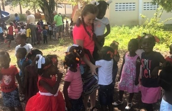 Haiti Children at Recess