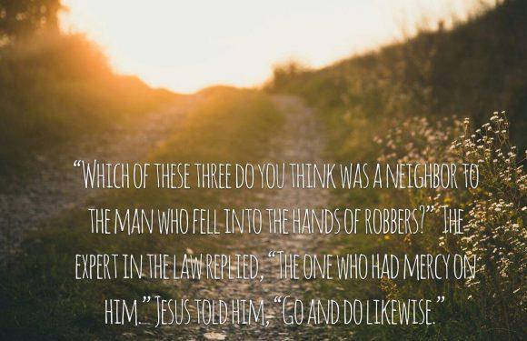 Luke 10 36 37