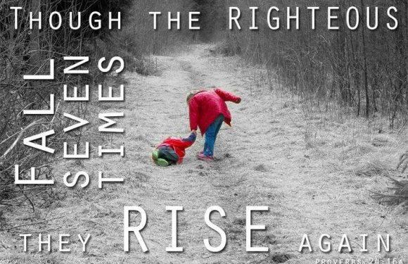 Proverbs 24:16a