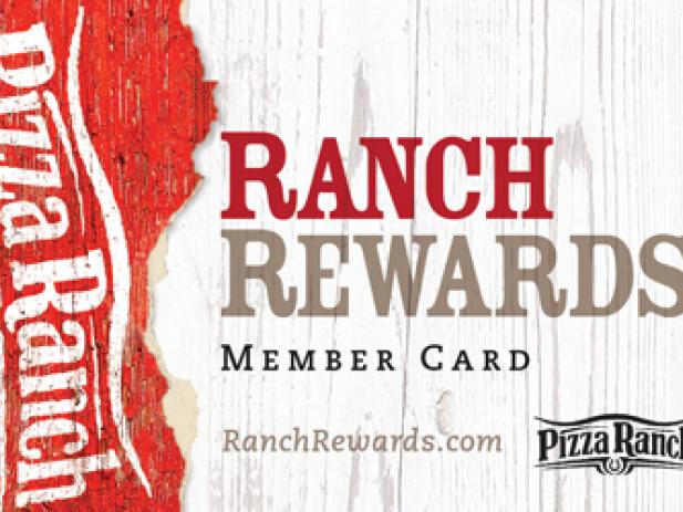 Ranch Rewards Card New