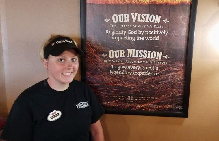 Creston Pizza Ranch Manager Mckenzie