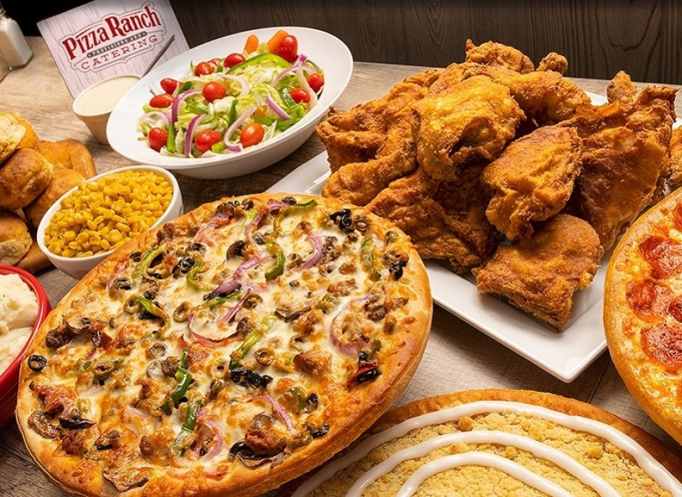 Let Pizza Ranch cater your next event!