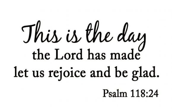 Psalm 118:24 text