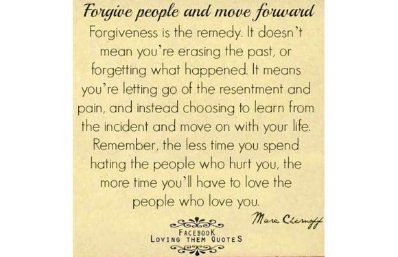 Prs Forgivenss 7 25 17