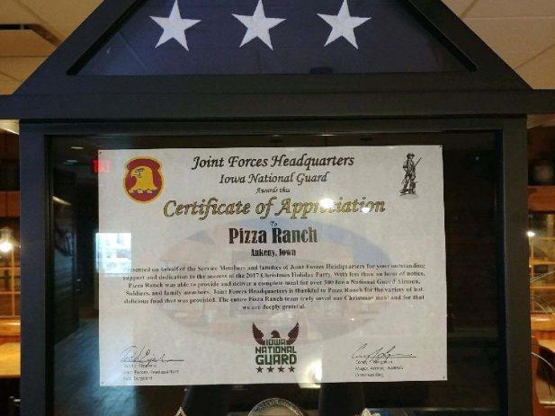 Ankeny Certificate