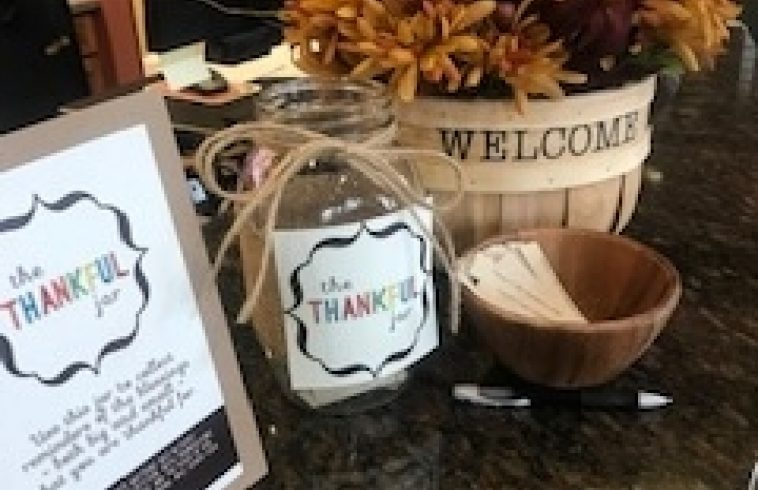 Monday Mission - Thankful Jar