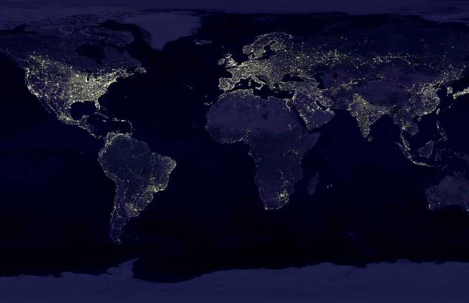 Earth Earth At Night Night Lights 41949
