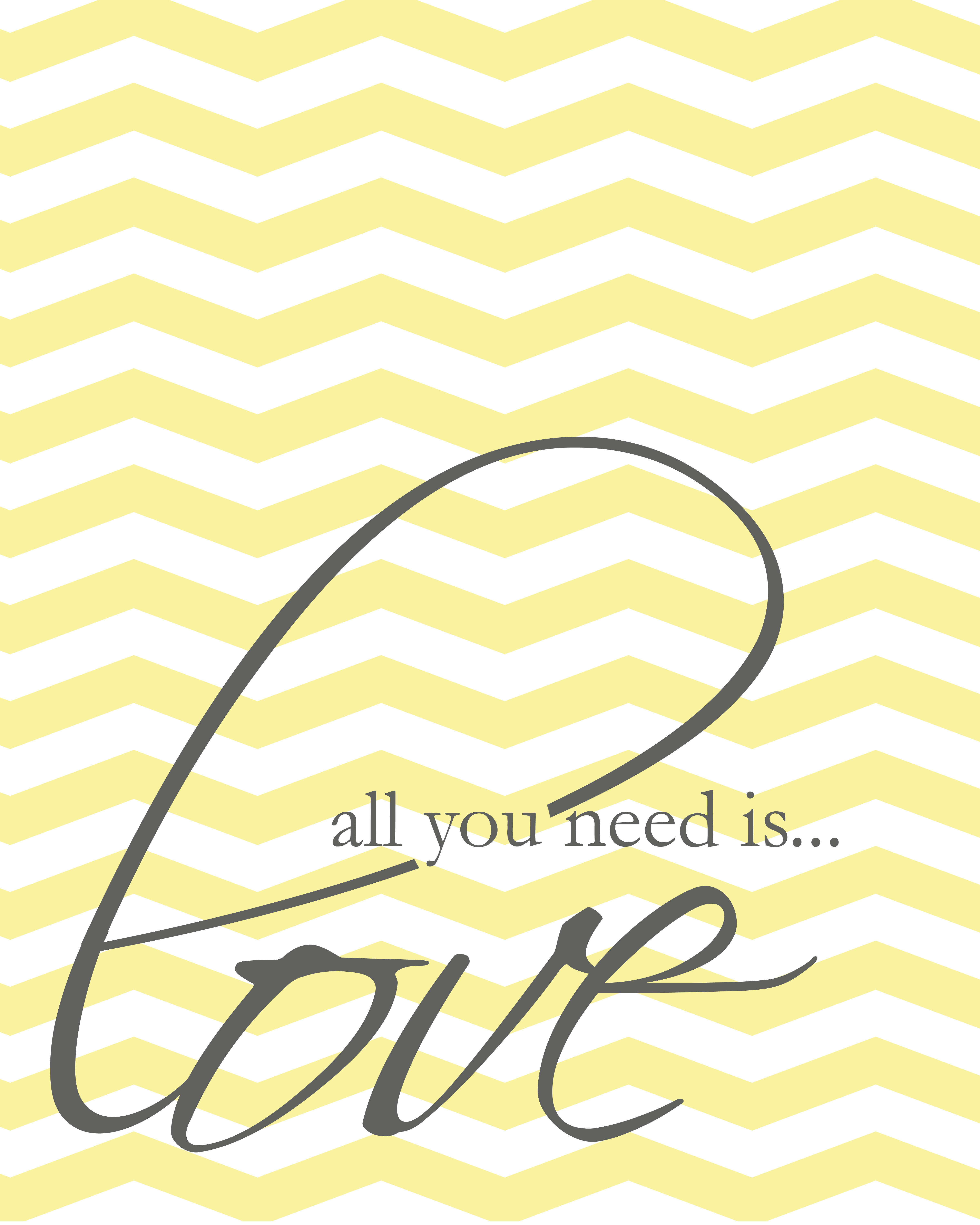 Wall Decor All You Need Is Love : Quot all you need is love free wall art printable the