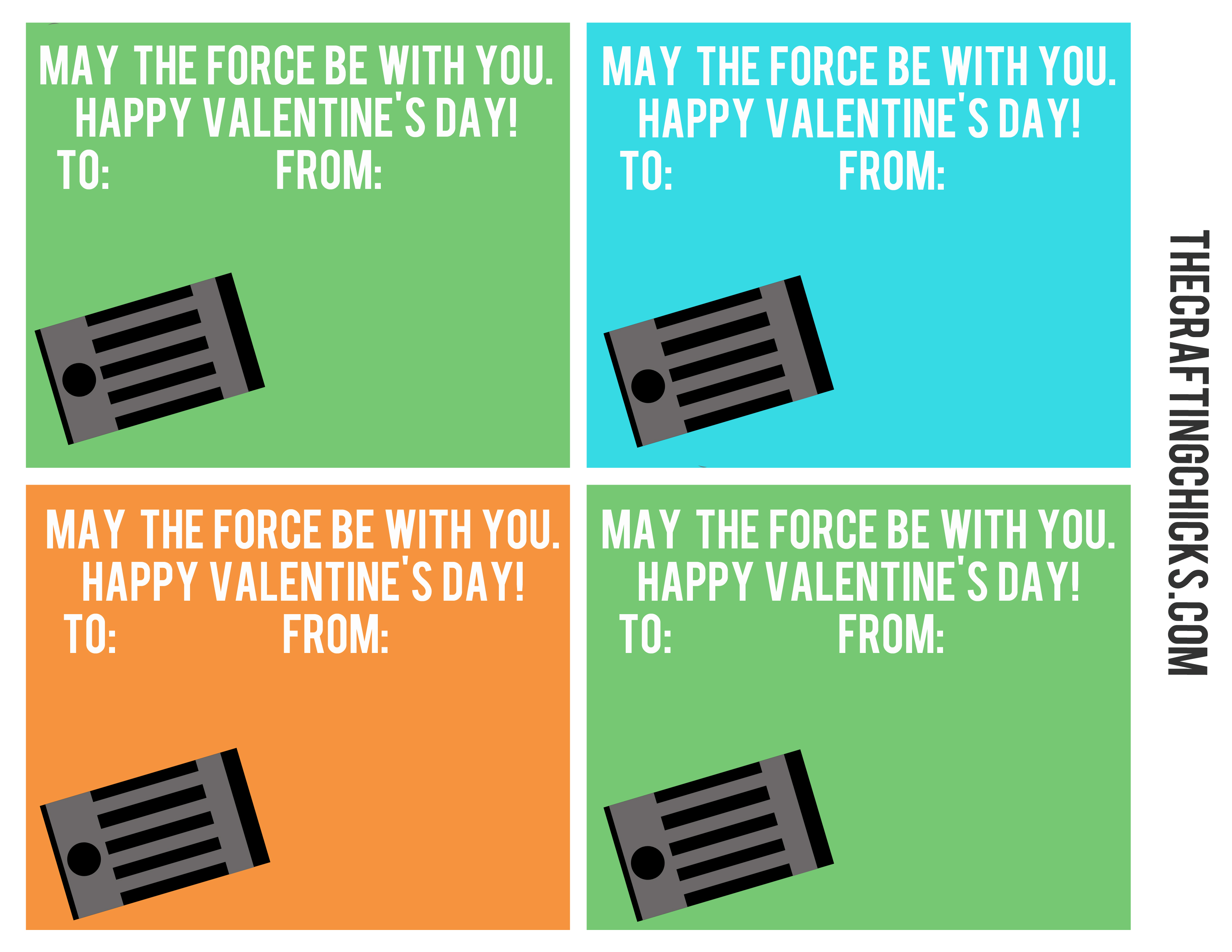 picture regarding Lightsaber Valentine Printable titled Star Wars Lightsaber Bubble Wand Valentines - The Producing