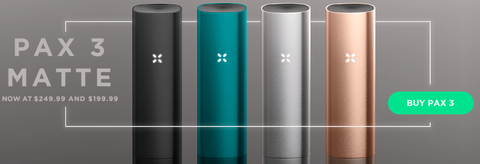New Pax 3 Matte Colors are here!