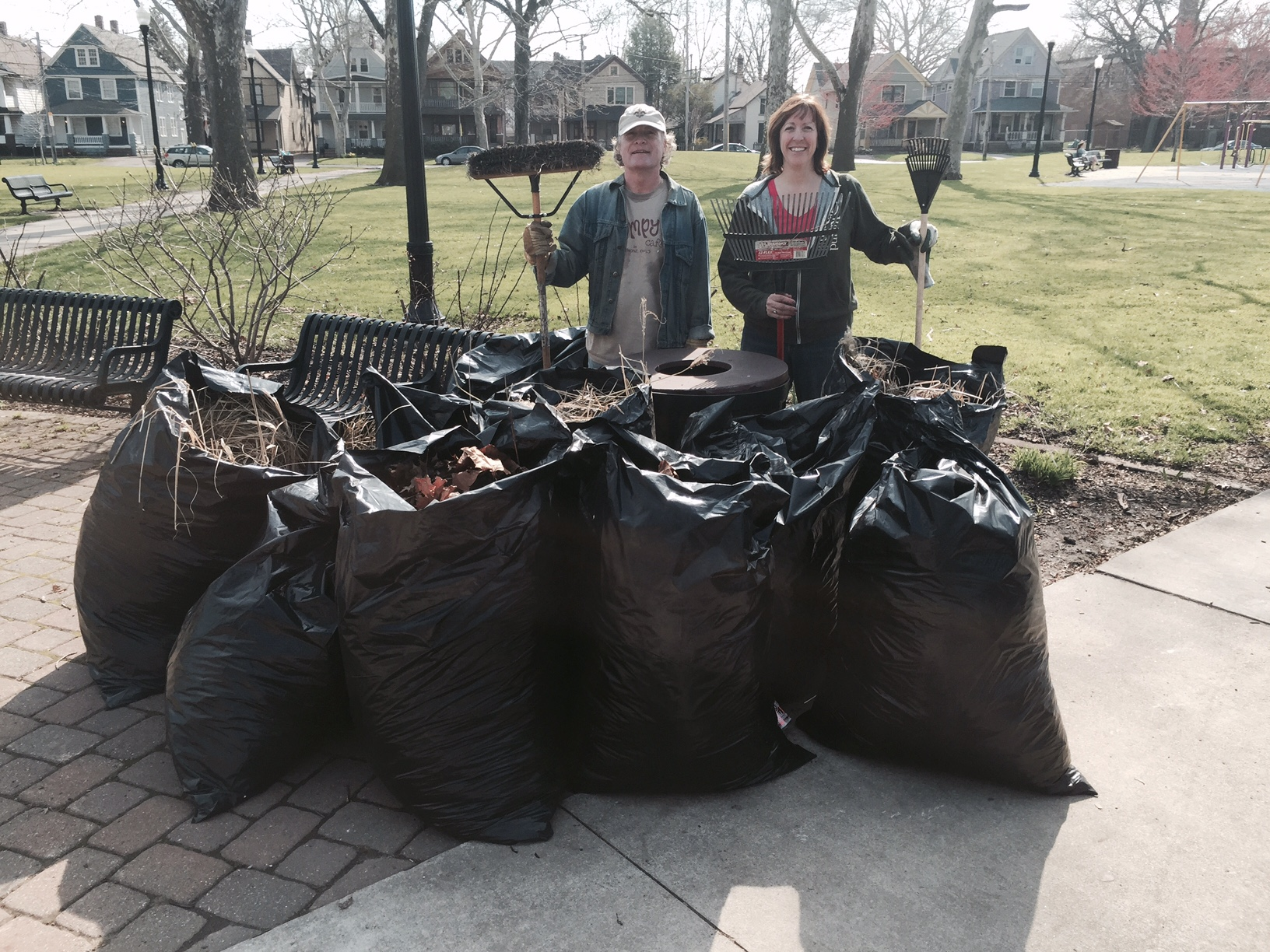 Cleaning up lincoln park