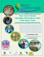 11.8.14 bear creek stream cleanup