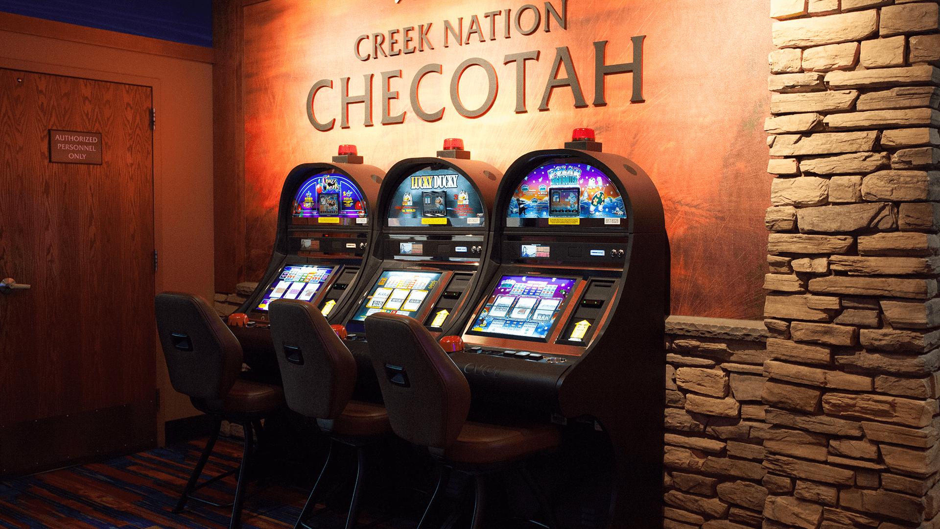Creek Nation Casino Checotah games