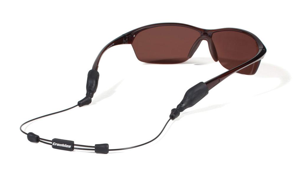 XL//XXL Terra Ends Croakies Terra System Adjustable Eyewear Retainer Combo Black