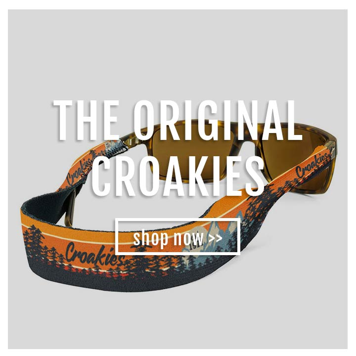0d078122f63 Croakies® - The Original Eyewear Retainer For Life s Everyday Adventures