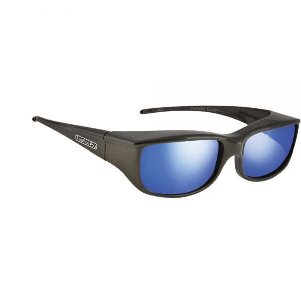 cf3c508a2fba Euroka Gunmetal Polarvue blue mirror - Jonathan Paul Eyewear