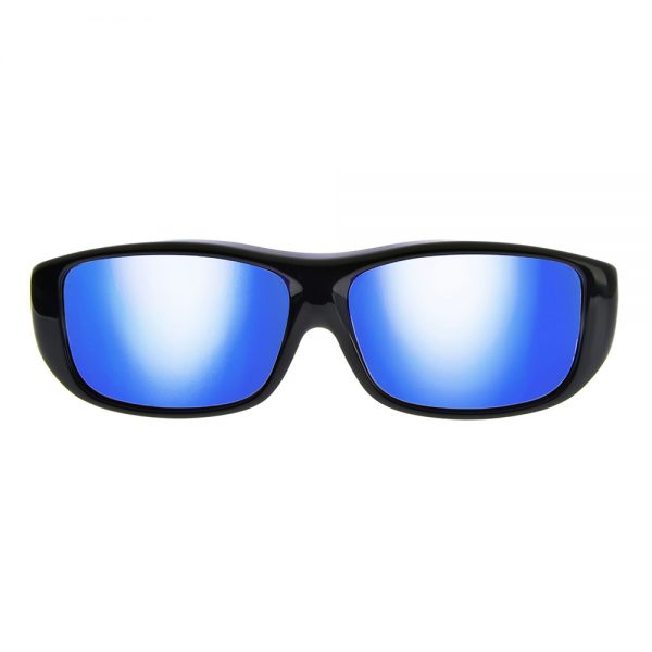 17d628c43c Quamby Eternal Black Polarvue blue mirror - Jonathan Paul Eyewear