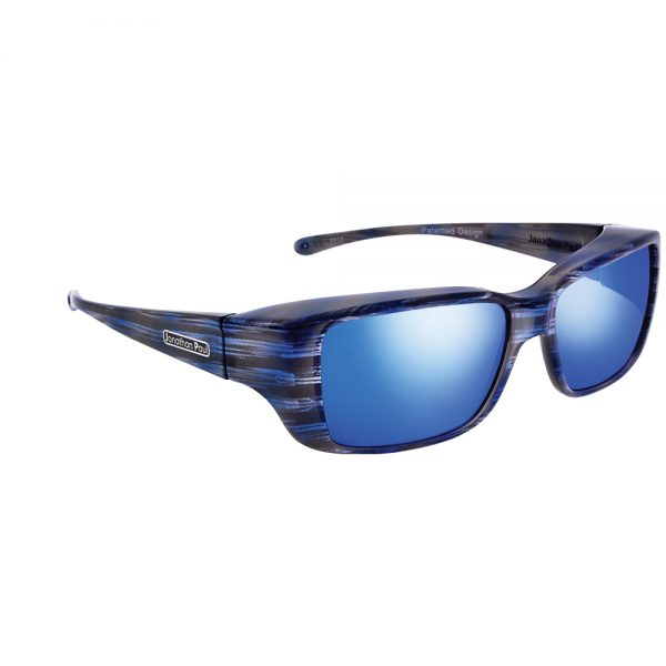 8cb34546f7518 Jonathan Paul Nowie Fitover Polarized Sunglasses with Blue Mirror Lenses