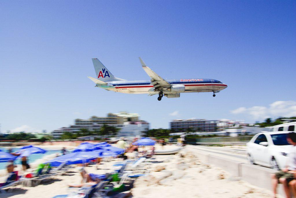 Saint Maarten Airport by Takashi Ota
