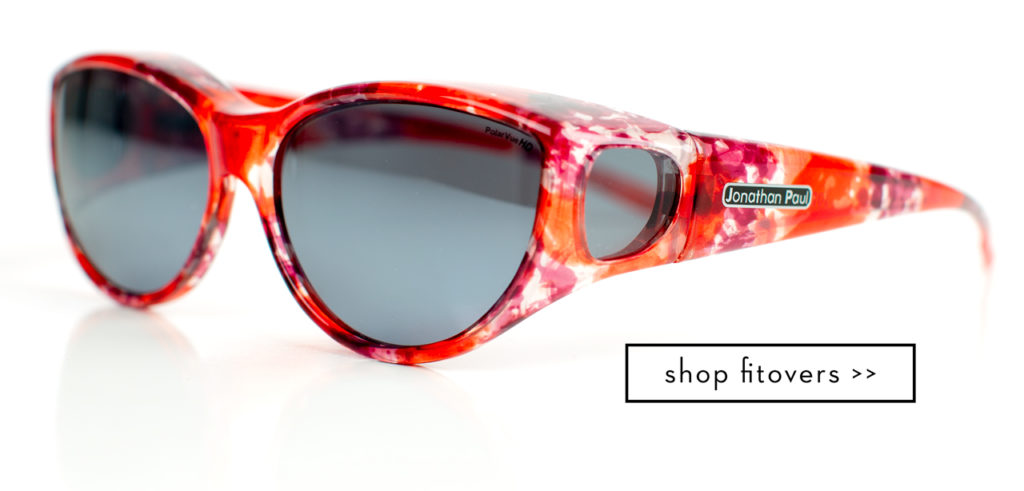 Ikara Fitover Sunglasses in a Cat Eye Style