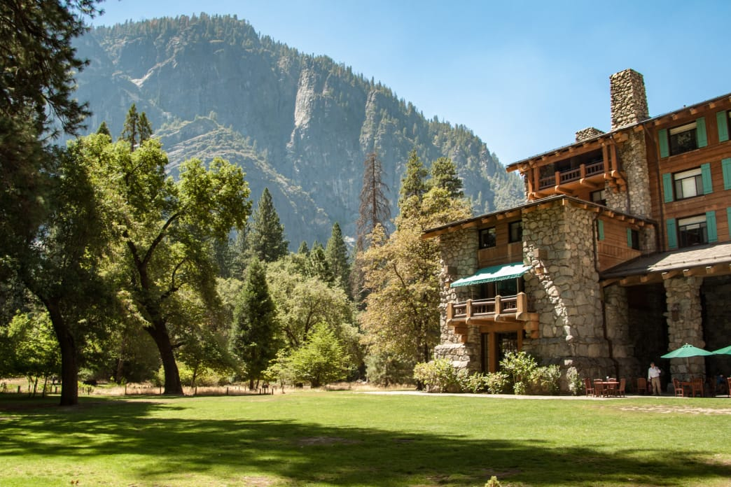 In-park hotels like the Majestic Yosemite Hotel at Yosemite National Park add an element of luxury to any outdoor adventure. By WBrentPrice