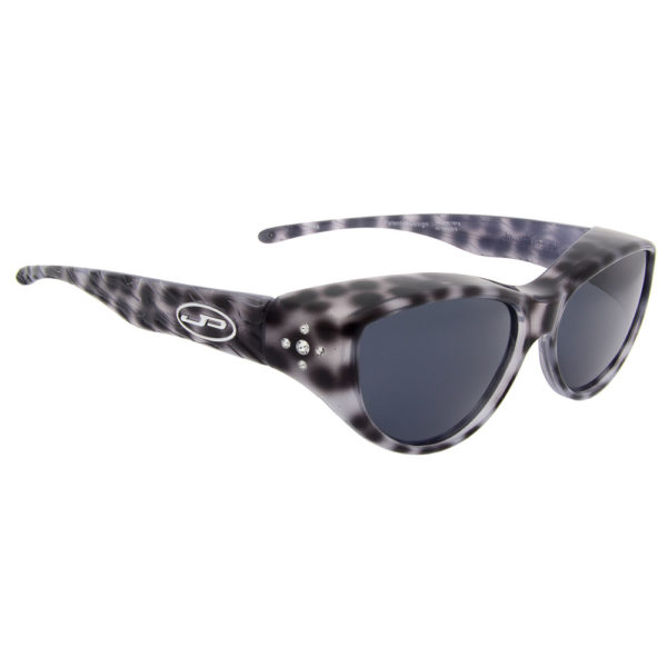 fitovers chic cat black cheetah crystals